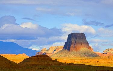 Cumulus clouds buttes, Glen Canyon National Recreation Area, Arizona