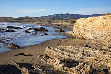 Coast, Old Dead Creek, Santa Lucia Range, San Simeon, Big Sur, California