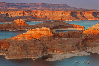 Padre Bay and Lake Powell from Alstrom Point, Glen Canyon National Recreation Area, Utah