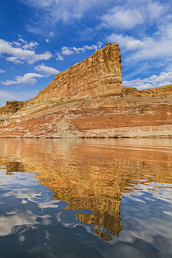 Butte, Last Chance Canyon, Lake Powell, Glen Canyon National Recreation Area, Utah