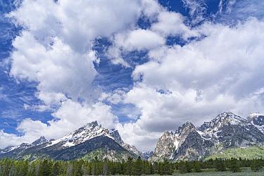 Mountains, Grand Tetons, Grand Teton National Park, Wyoming