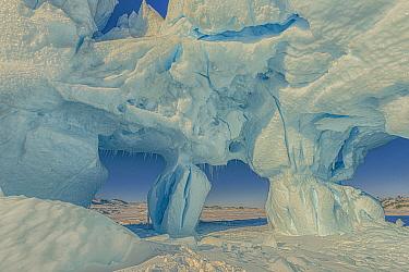 Melting iceberg, Kulusuk, Iceland