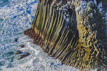Coastal cliffs made of basalt columns, Snaefellsnes, Iceland