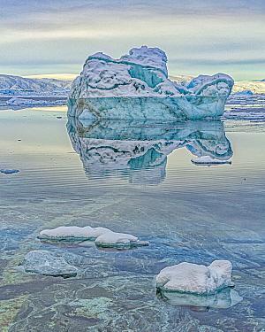 Iceberg, Tiniteqilaaq, Iceland