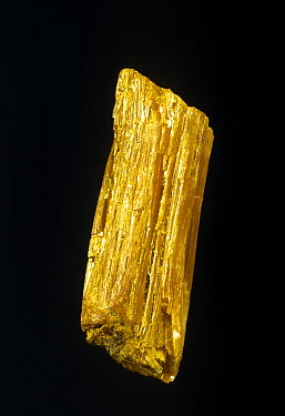 Orpiment, a sulphide of arsenic, from Greece  -  Albert Lleal