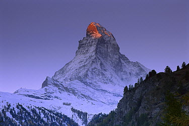 First light on the Matterhorn, Switzerland  -  Thomas Marent