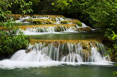 Waterfall, Formoso River, Bonito, Brazil  -  Luciano Candisani