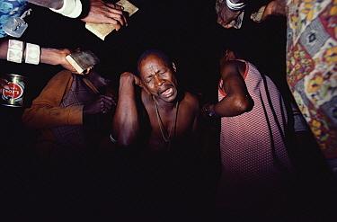 Bushmen dancing, Namibia  -  Jim Brandenburg