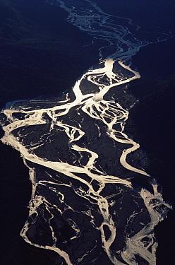Glacial run-off, Alaska  -  Jim Brandenburg
