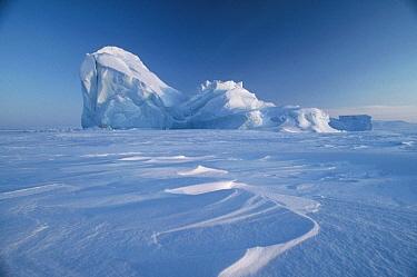Iceberg in pack ice, Ellesmere Island, Nunavut, Canada  -  Jim Brandenburg