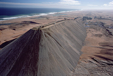 Diamond mining dirt mounds, Namibia  -  Jim Brandenburg