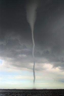 Waterspout, Texel, Noord-Holland, Netherlands  -  Do van Dijk/ NiS