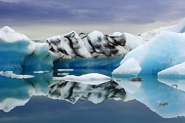 Glacial lake, Iceland  -  Jan Vermeer