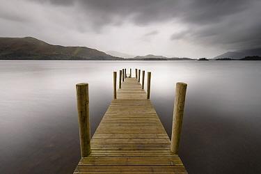 Boardwalk on coast, Ashness, England, United Kingdom  -  Bart Heirweg/ Buiten-beeld