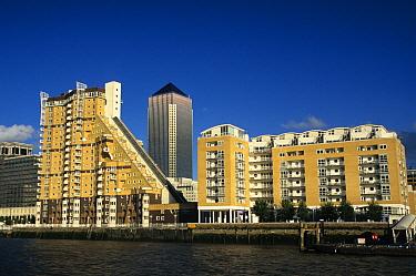 England, Canary Wharf, London Docklands  -  Hugh Clark/ FLPA