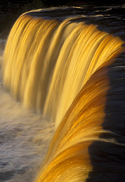 Tahquamenon falls Michigan, USA  -  Edward Myles/ FLPA