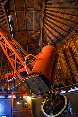 Astrograph telescope used in to discover Pluto, Pluto Discovery Telescope, Lowell Observatory, Flagstaff, Arizona, U.S.A., April  -  Mark Newman/ FLPA