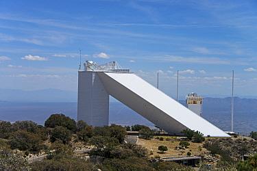 McMath-Pierce Solar Telescope, Kitt Peak National Observatory, Kitt Peak, Quinlan Mountains, Sonoran Desert, Tohono O'odham Nation, Arizona, U.S.A., April  -  Mark Newman/ FLPA
