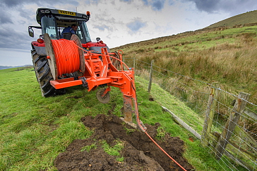 Work taking place to instal the World's fastest rural broadband in the farmland around Chipping, Preston, Lancashire. Offering a full 1,000Mbps, B4RN, Broadband for the Rural North, is a professionall...