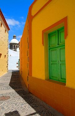 Narrow back-streets of Aguimes Village, Gran Canaria Island, the Canary Isles, Spain, September 2007  -  Fabio Liverani/ npl