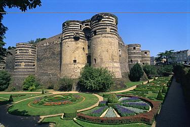 Chateau at Angers, France  -  Fabio Liverani/ npl