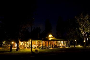 Romantic restaurant near Margaret River  -  Jurgen Freund/ npl