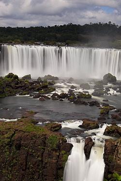 Waterfalls, Iguacu (Iguazu) National Park, Brazil  -  Michael Hutchinson/ npl