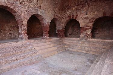 Roman baths, Caldes de Montbui, Barcelona, Catalonia, Spain 2008  -  Juan Manuel Borrero/ npl