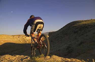 Mountain biking, USA  -  Jeff Vanuga/ npl