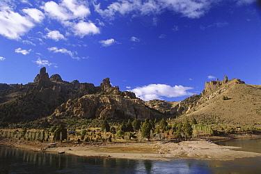 Valle Encantado, Patagonia, nr Bariloche, Rio Negro province, Argentina  -  Daniel Gomez/ npl