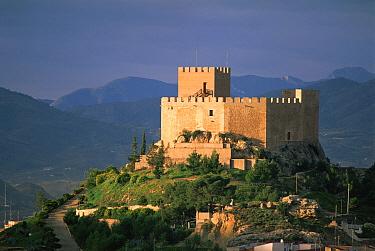 Arab castle in Petrer, Alicante Spain mountains, castles  -  Jose B. Ruiz/ npl