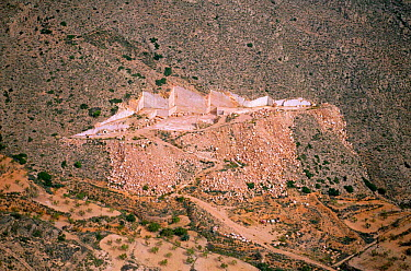 Marble quarry, Pinoso, Alicante, Spain  -  Jose B. Ruiz/ npl