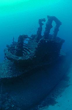 Wreck of the Royal Navy 'S' Class submarine HMS Stubborn, Sunk as ASDIC target 30th August 1946, Malta  -  Michael Pitts/ npl