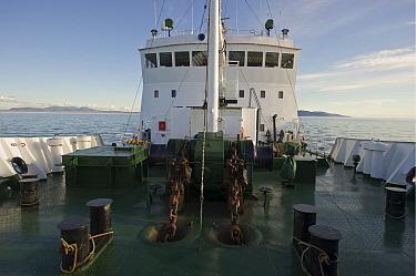 View aboard ship travelling to Wrangel Island, Far Eastern Russia, August 2011  -  Sergey Gorshkov/ npl