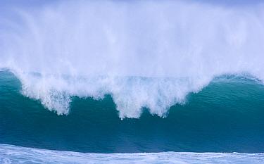 Wavesbreaking into Saligo Bay, Islay, Argyll, Scotland, UK February  -  Niall Benvie/ npl