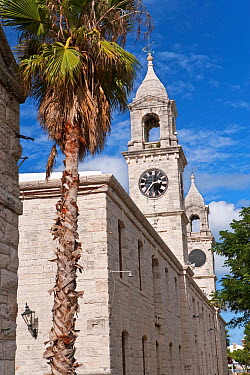Clock Towers at the Royal Naval Dockyard, Sandy Parish, Bermuda 2007  -  Gavin Hellier/ npl