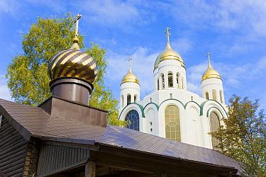 Cathedral of Christ the Saviour in Ploshchad Pobedy (Pobedy Square) Kaliningrad, Russia 2008  -  Gavin Hellier/ npl