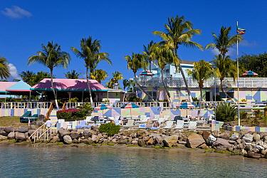 Frigate Bay Beach, Timothy Beach resort, St Kitts, St Kitts and Nevis, Leeward Islands, Lesser Antilles, Caribbean, West Indies 2008  -  Gavin Hellier/ npl