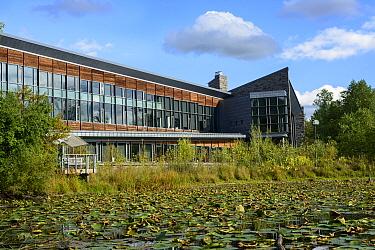 Cornell Lab of Ornithology headquarters, Sapsucker Woods, New York, USA, September 2012.