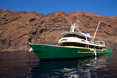 Solmar V, luxury liveaboard boat Guadalupe Islands, Mexico, East Pacific Ocean