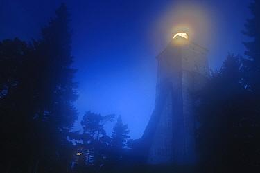 Kopu lighthouse - the oldest lighthouse in Estonia, on Hiiumaa island. August 2011.