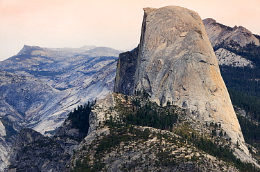 Half Dome and Sierra Nevada from Glacier point, Yosemite National Park, California, USA, October 2012.
