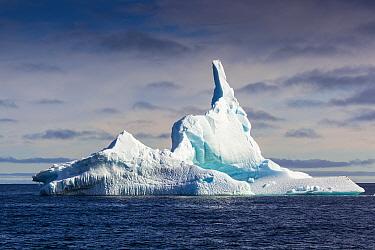 Iceberg, Spitzbergen, Norway, June, 2012.