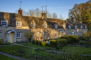 Cotswold village of Calmsden, Gloucestershire, UK. April 2015.