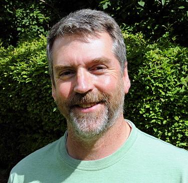 Portrait of wildlife photographer and filmmaker Nick Upton
