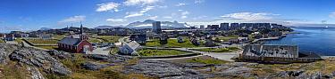 Nuuk, capital of Greenland, July 2016.