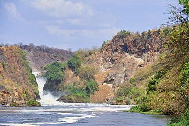Murchisson Falls National Park and lake Albert, Uganda
