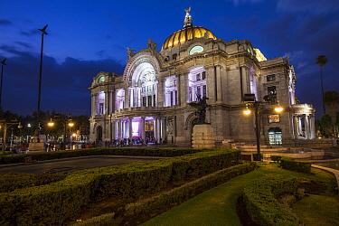 Palacio de las Bellas Artes / Palace of Fine Arts. Mexico City. Mexico, March 2017.
