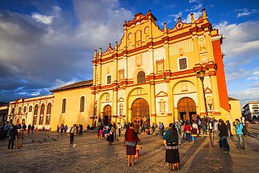 Cathedral of San Cristobal de las Casas. Chiapas. Mexico