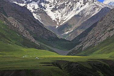 Naryn range,  Inner Tien-Shan Region, Western Tien-Shan UNESCO Natural World Heritage Site, Kyrgyzstan Republic, June 2016